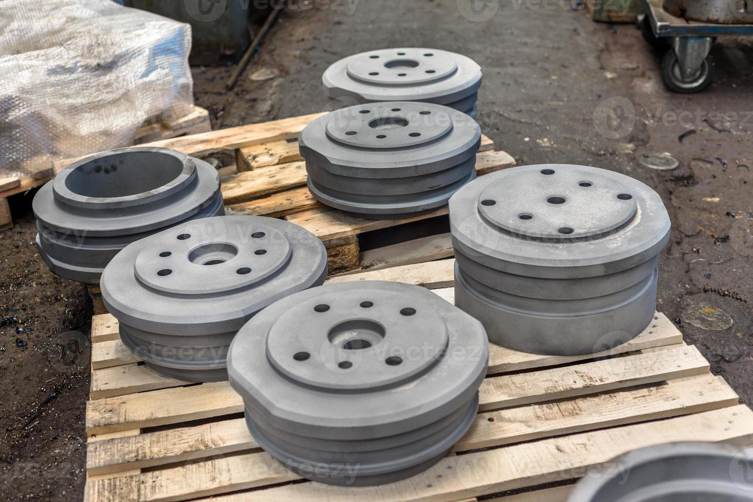 polierte Stahlprodukte foto
