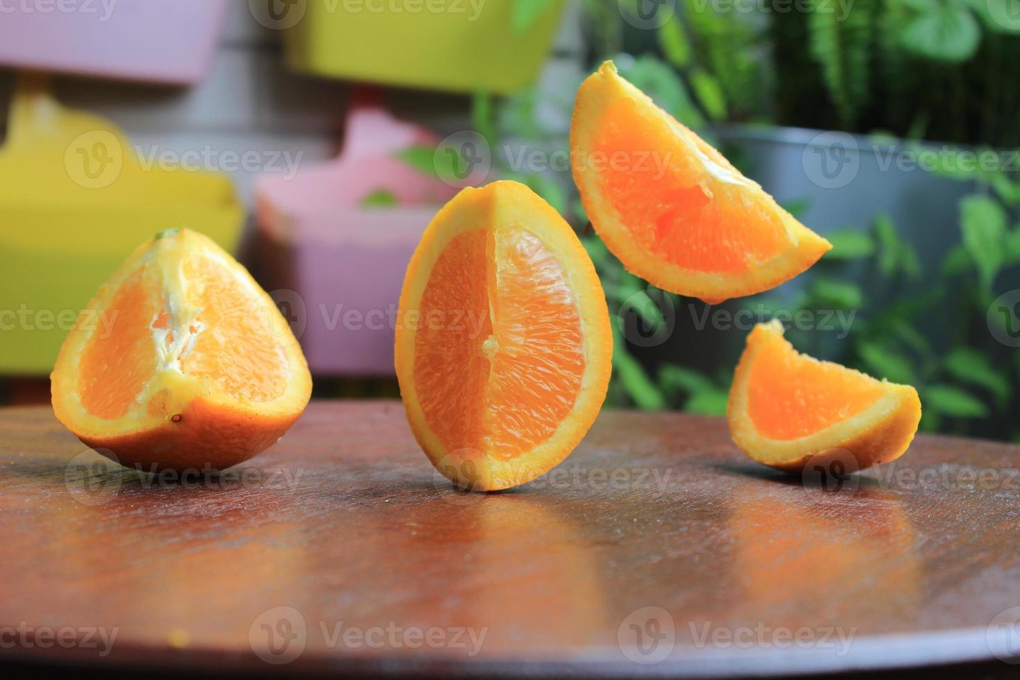 fliegende Orange 2 foto