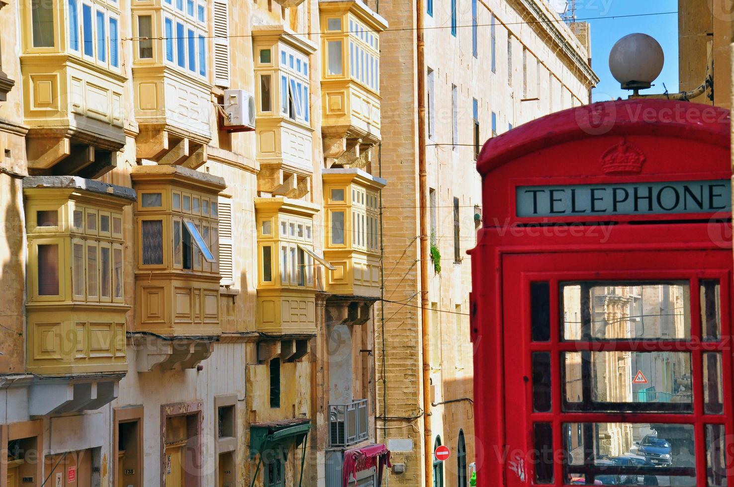 Valletta Straße foto