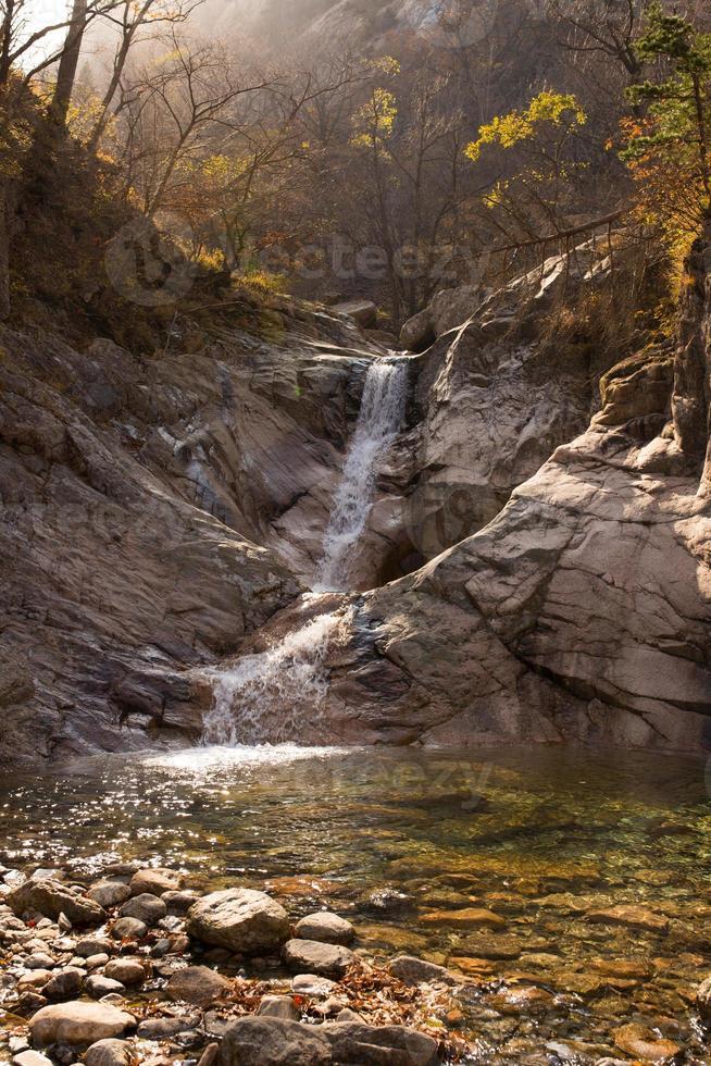 Herbst Wasserfall foto