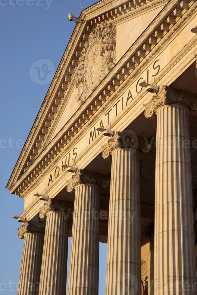 Säulen des Kurhauses wiesbaden foto