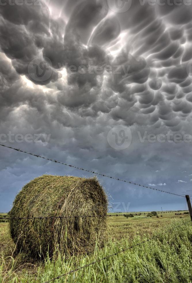 Gewitterwolken Saskatchewan foto