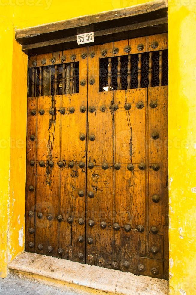 Türen von Cartagena foto