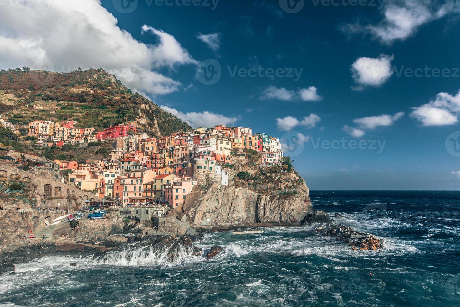 Dorf Manarola von Cinque Terre foto