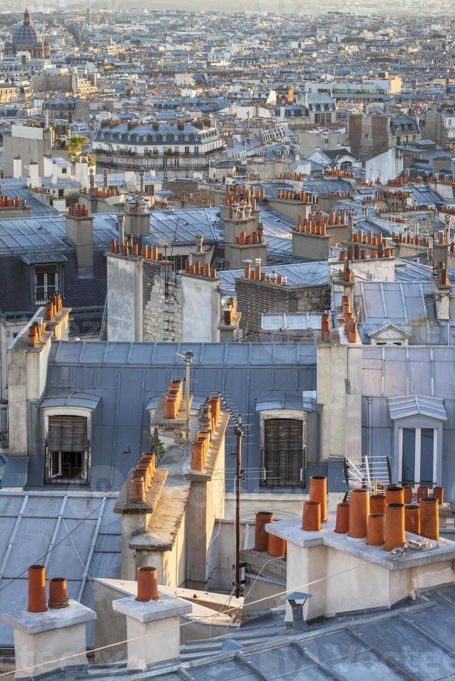 Pariser Dächer. foto