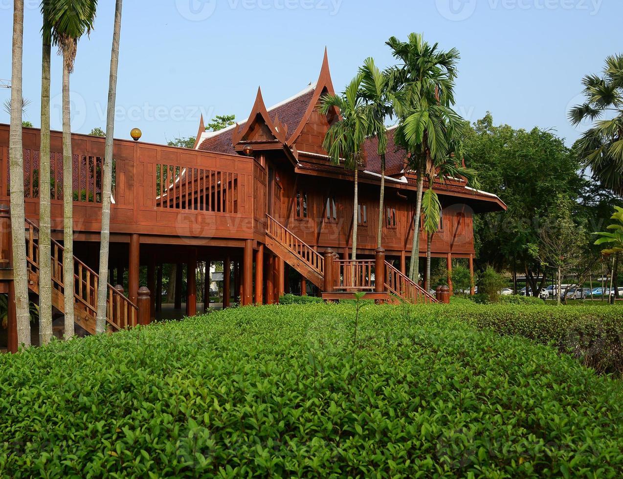 thailändisches Haus foto