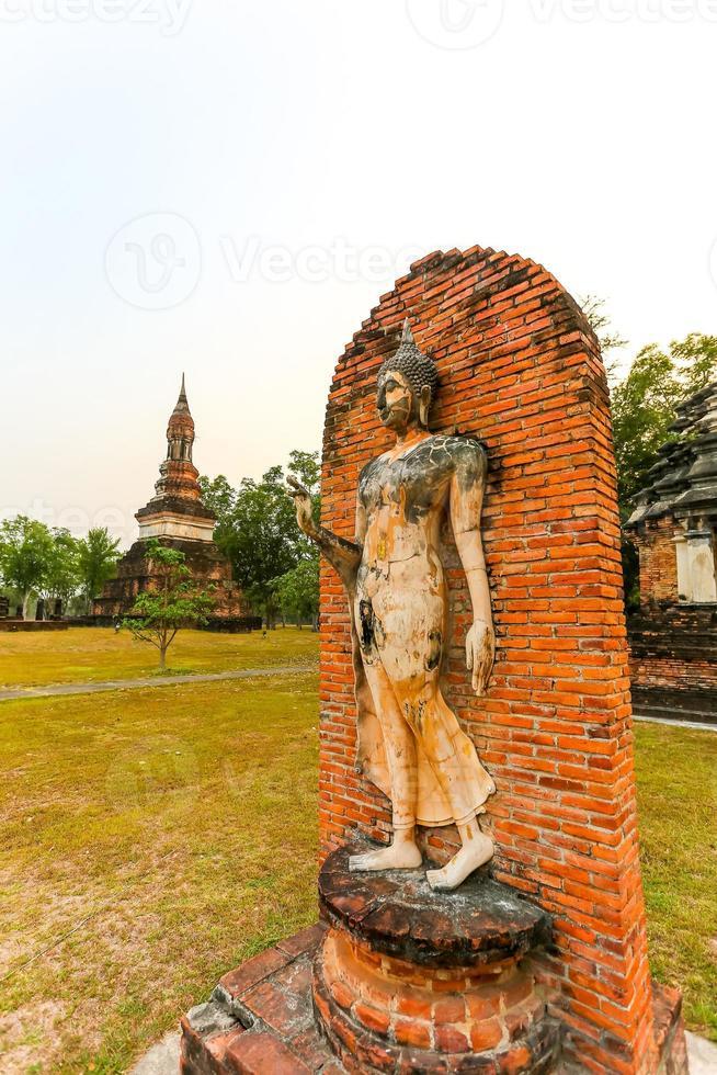Sukhothai historischen Park die Altstadt von Thailand foto