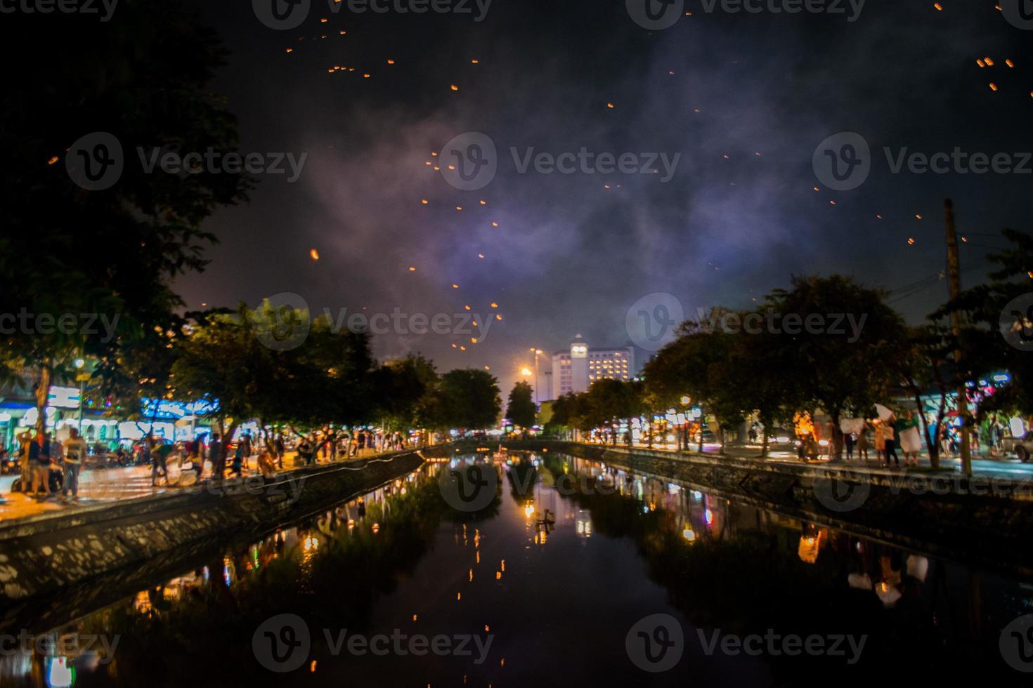 Festival von Chiang Mai foto