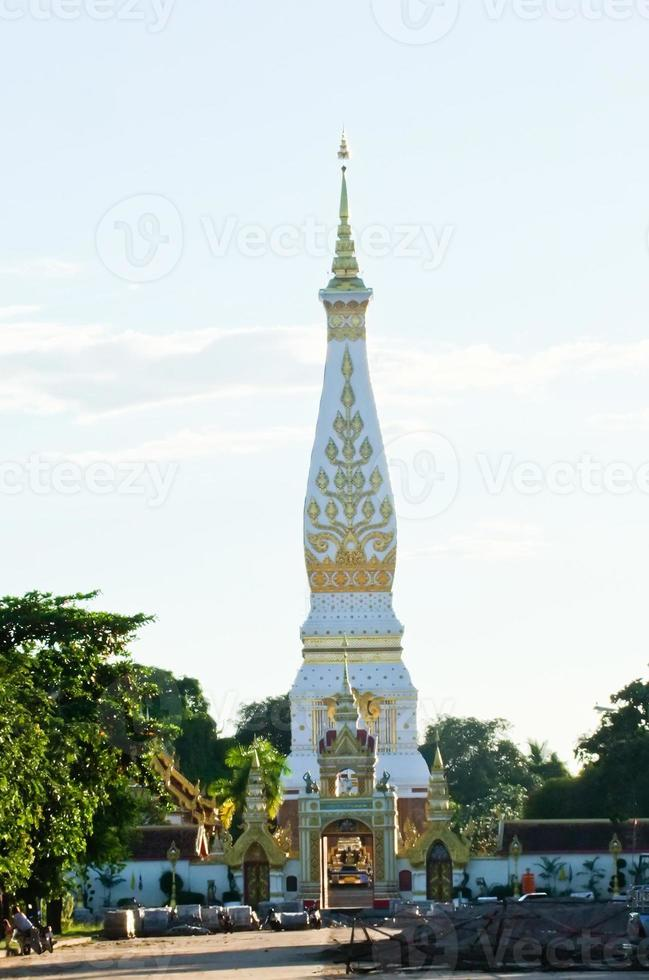 Phra, die Panom Pagode in Nakhon Phanom, Thailand foto