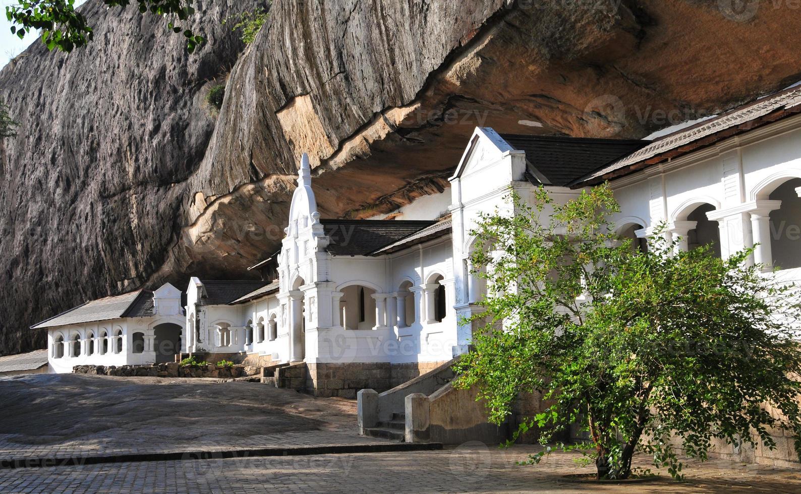 Dambulla Höhlentempel in Sri Lanka foto