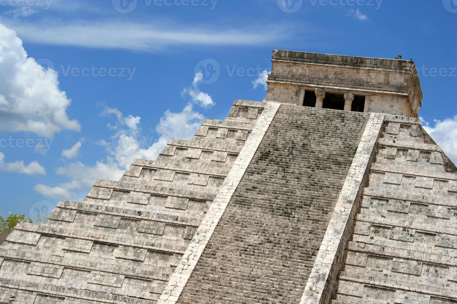 chichen itza, yucatan, mexiko foto