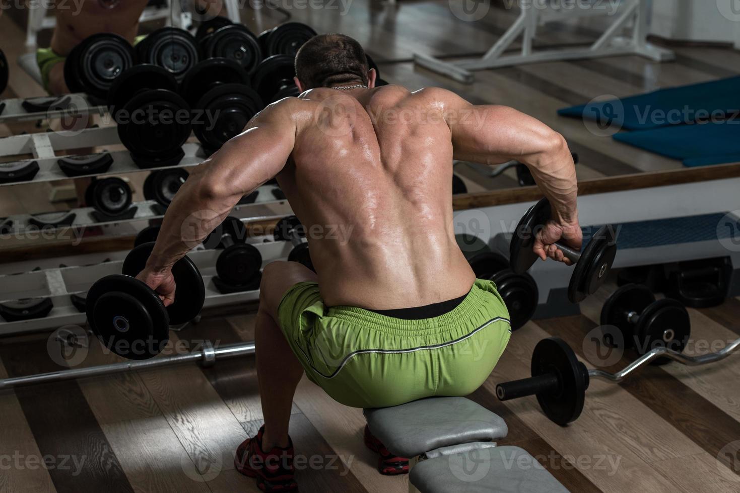 Rückenübung foto