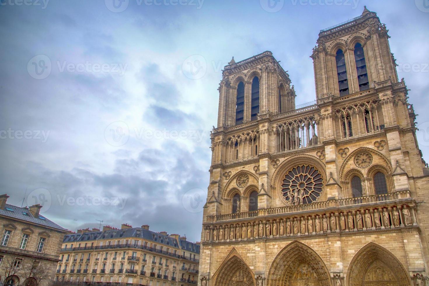 frankreich - paris - notre dame foto