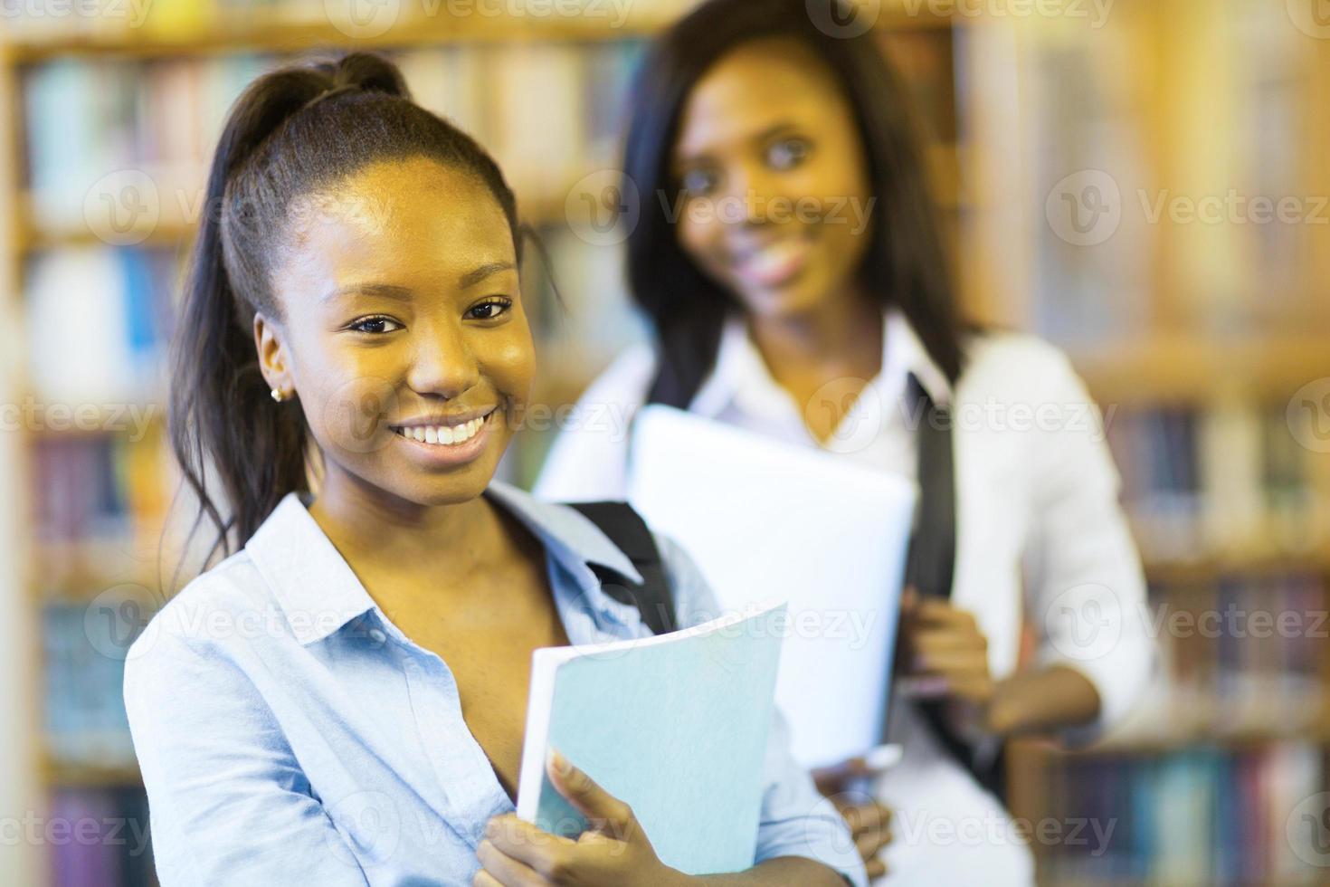 Afroamerikaner College-Mädchen foto