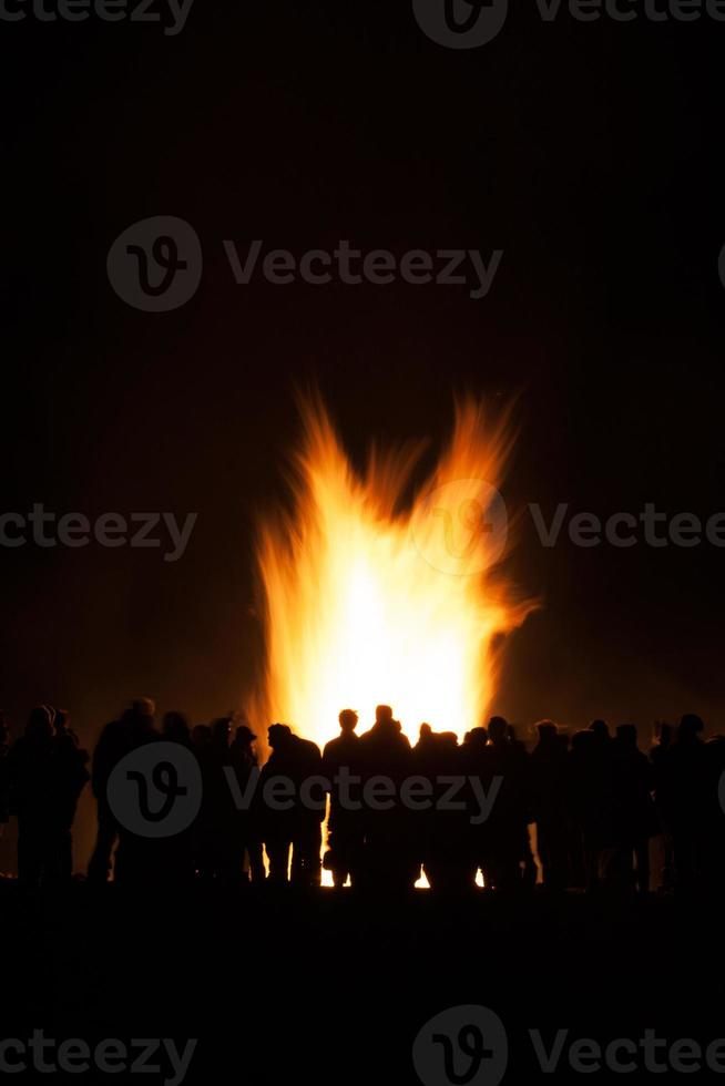 Lagerfeuerparty foto