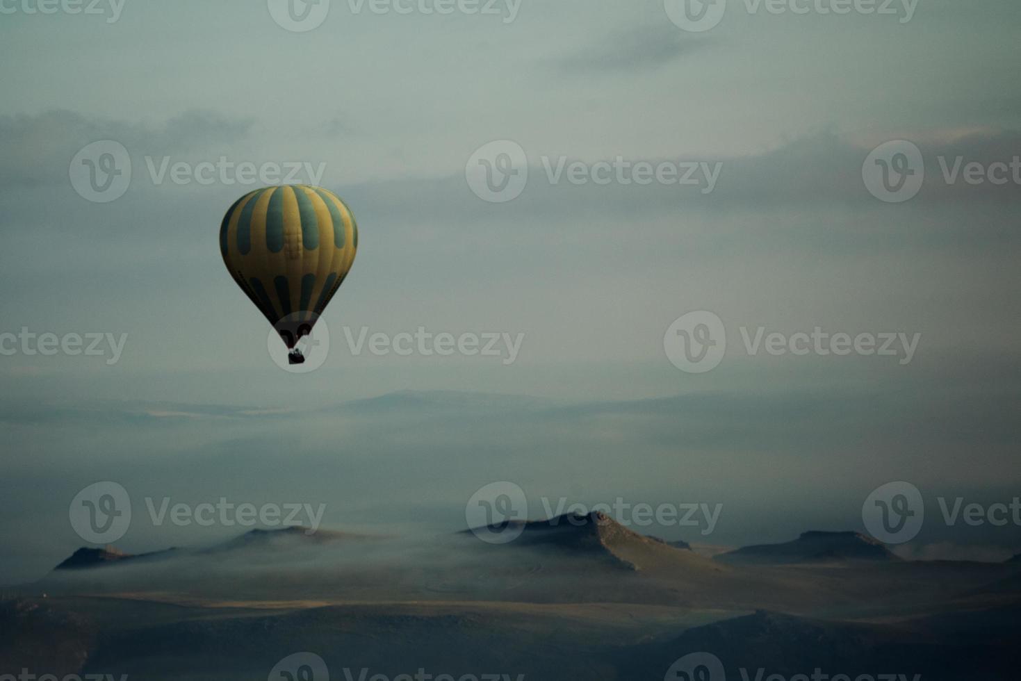 Heißluftballons über Kappadokien, Truthahn foto