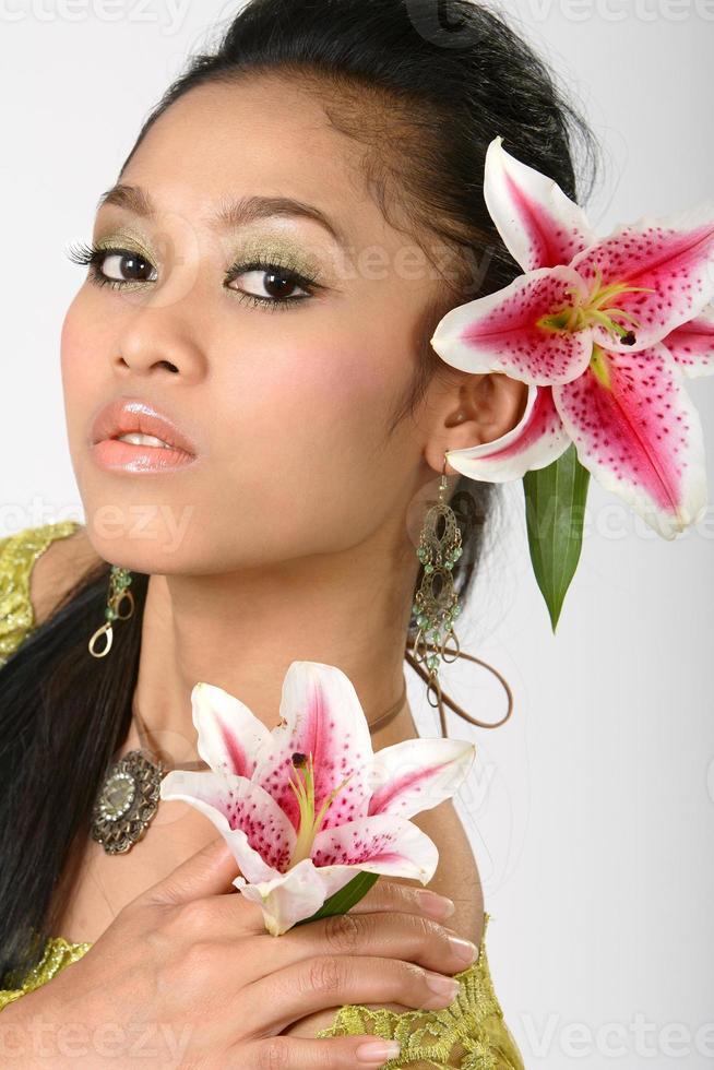 asiatische Schönheit foto