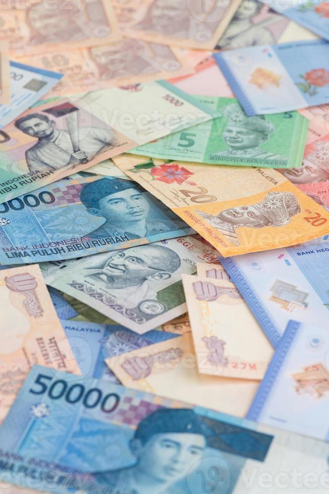 asiatische Währungen schließen foto