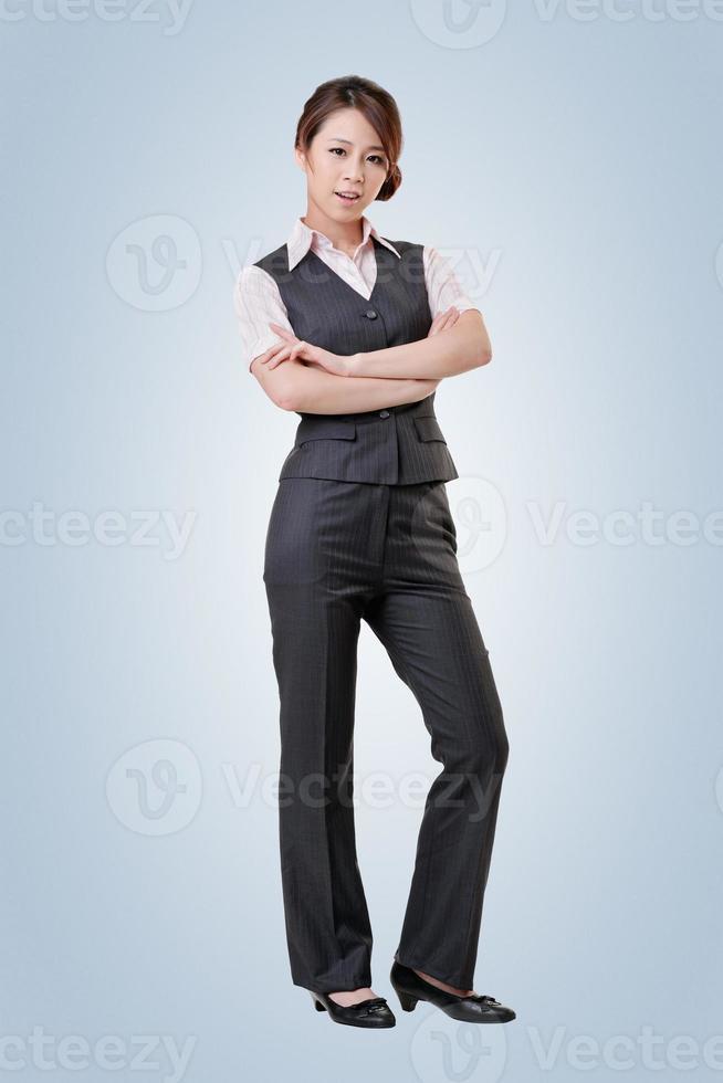 asiatische Geschäftsfrau foto