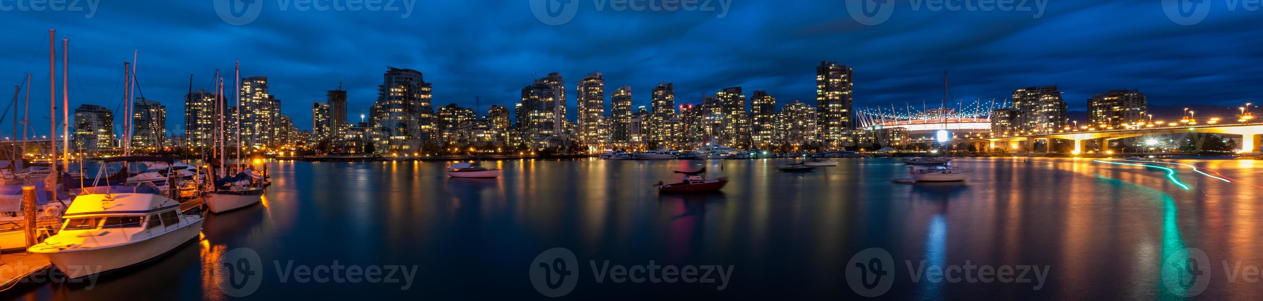 Panoramablick auf Vancouver foto