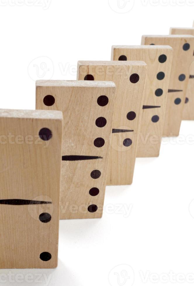 Domino-Spiel foto