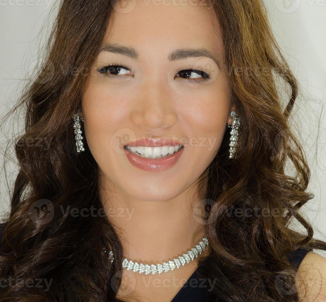 asiatischer Glamour foto