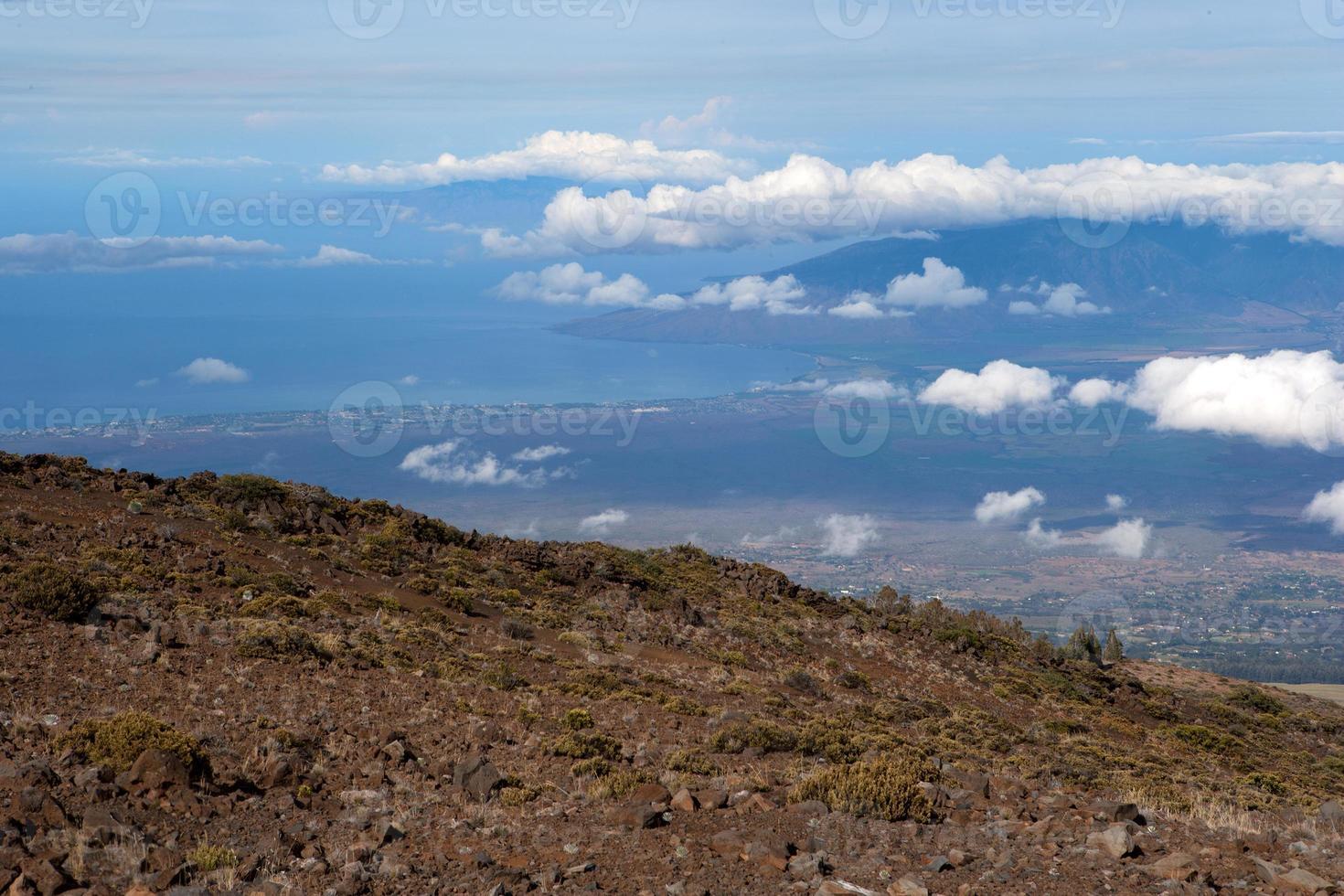 Maui von oben foto
