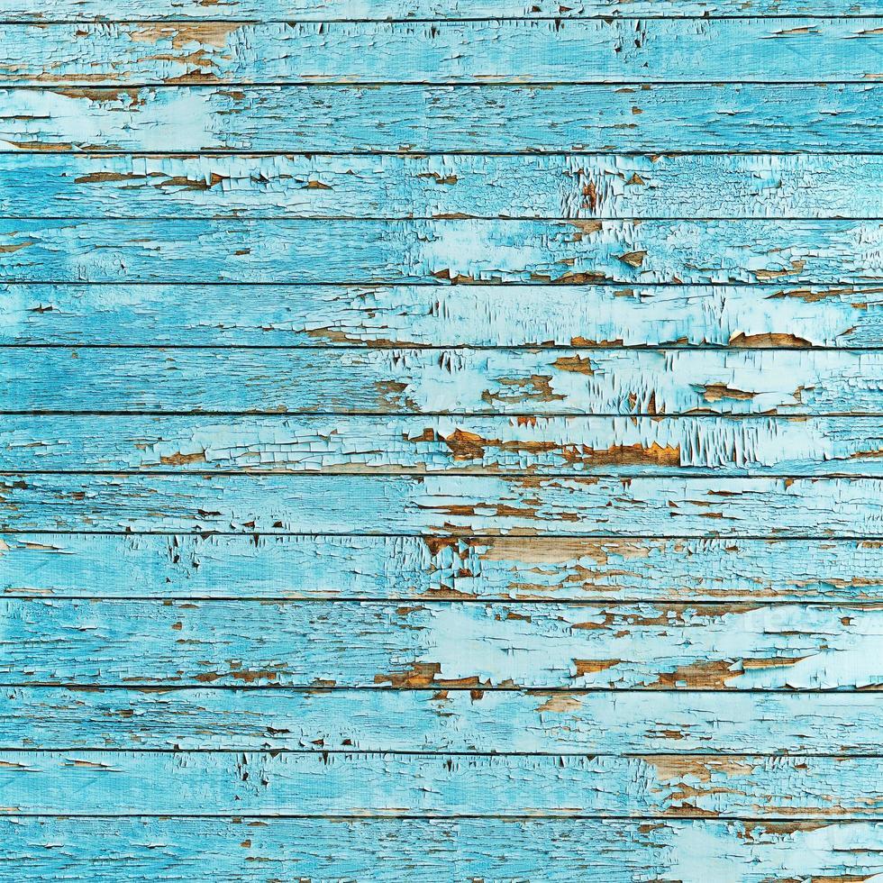 alter blauer Holzplankenhintergrund. foto