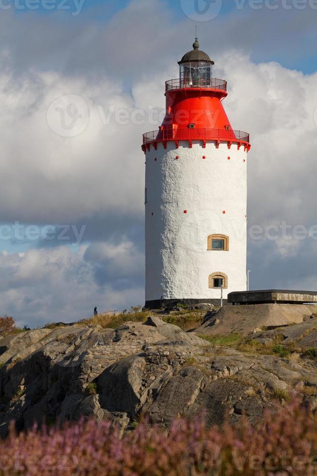 Leuchtturm auf Landsort. foto