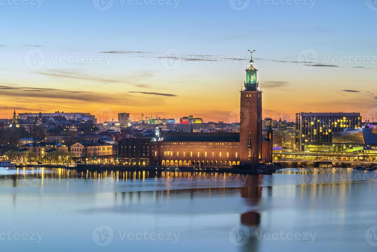 Stockholmer Rathaus foto