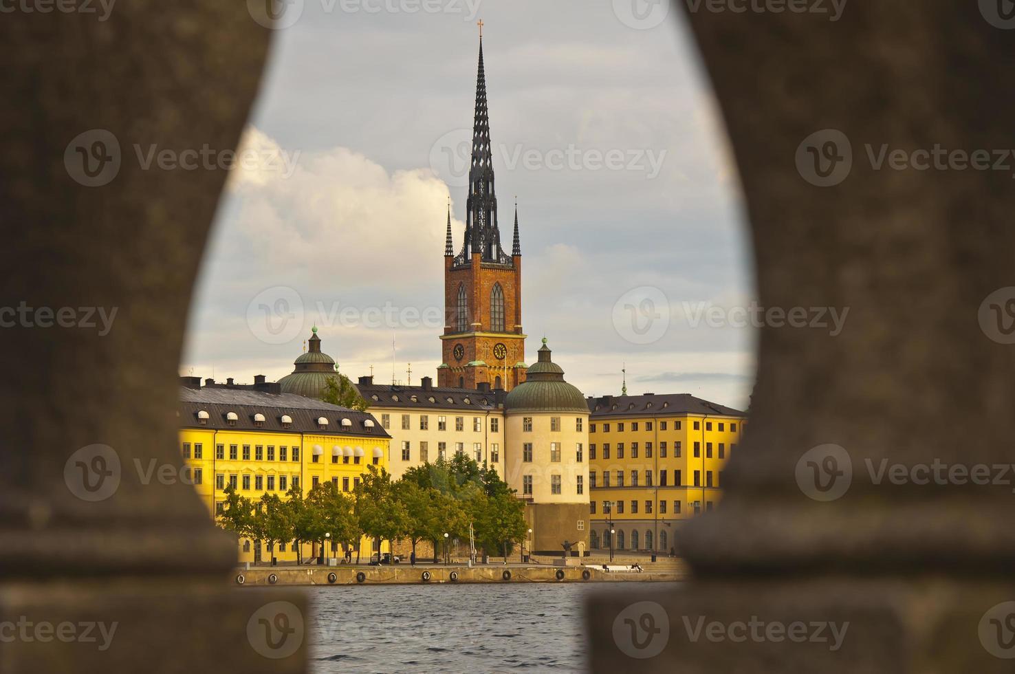 Blick auf die Kathedrale, Stockholm, Schweden foto