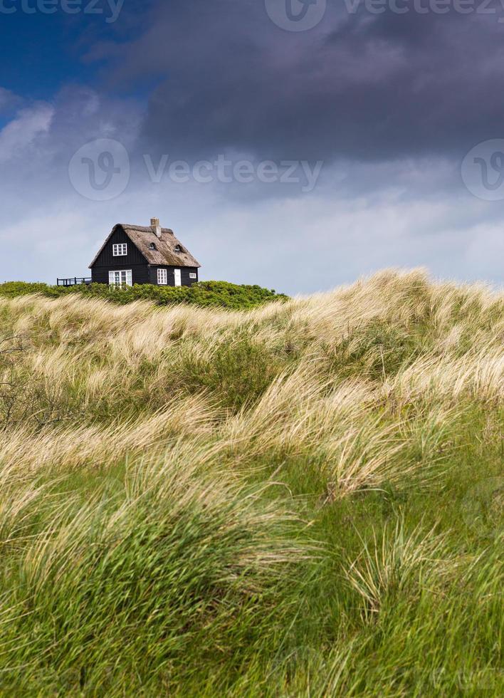stürmisches Wetter an der Küste - Ferienhaus foto