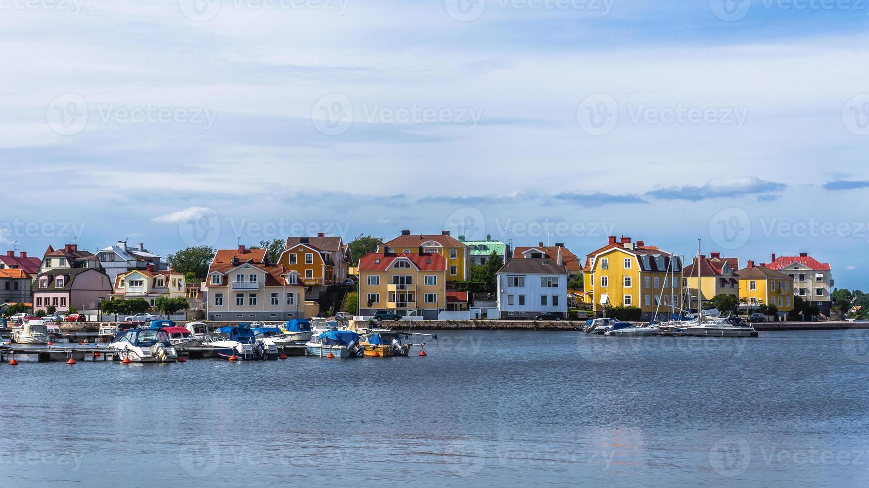 Stadtbild von Karlskrona foto