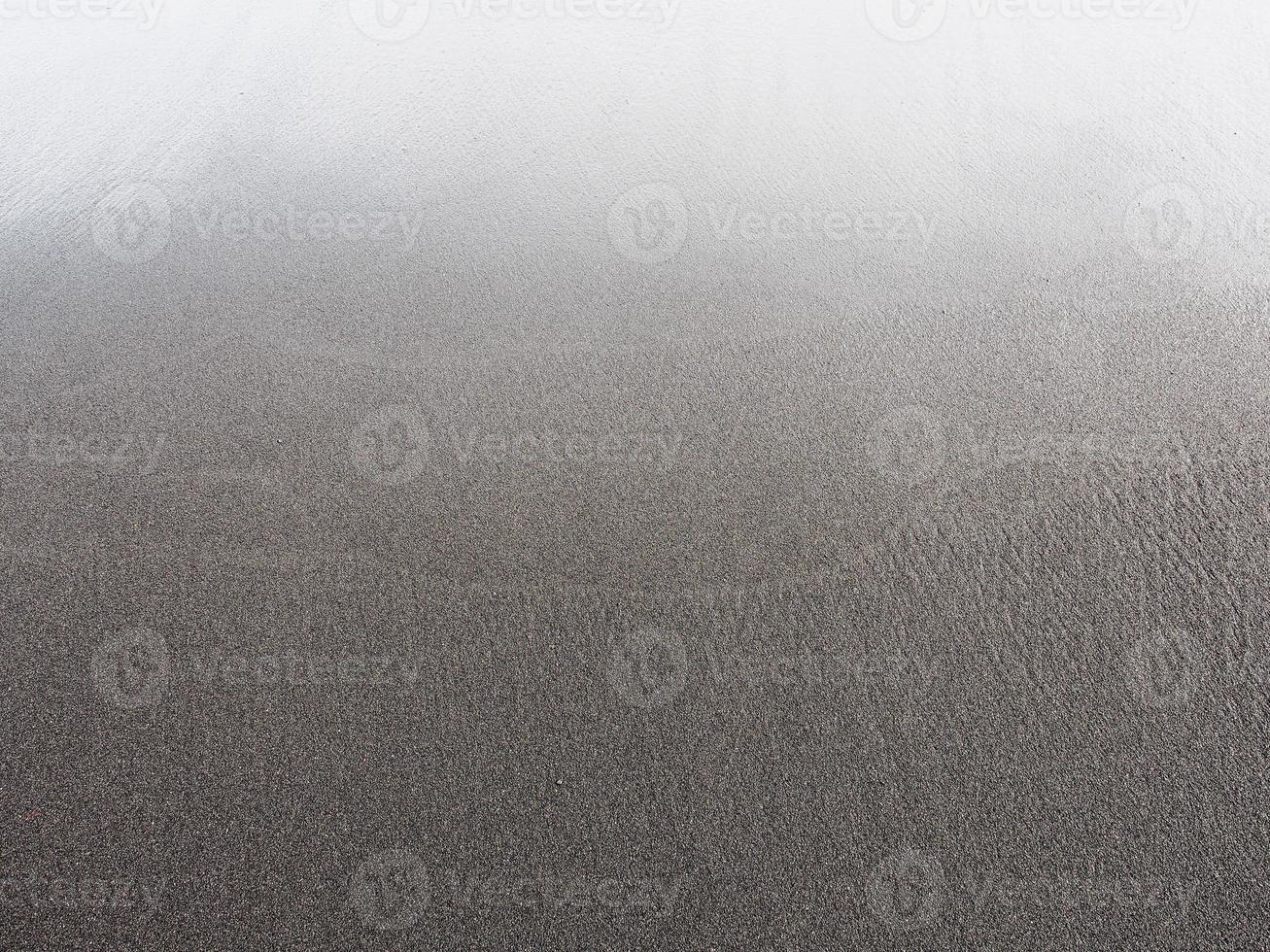 Punaluu schwarzer Sandstrand. foto