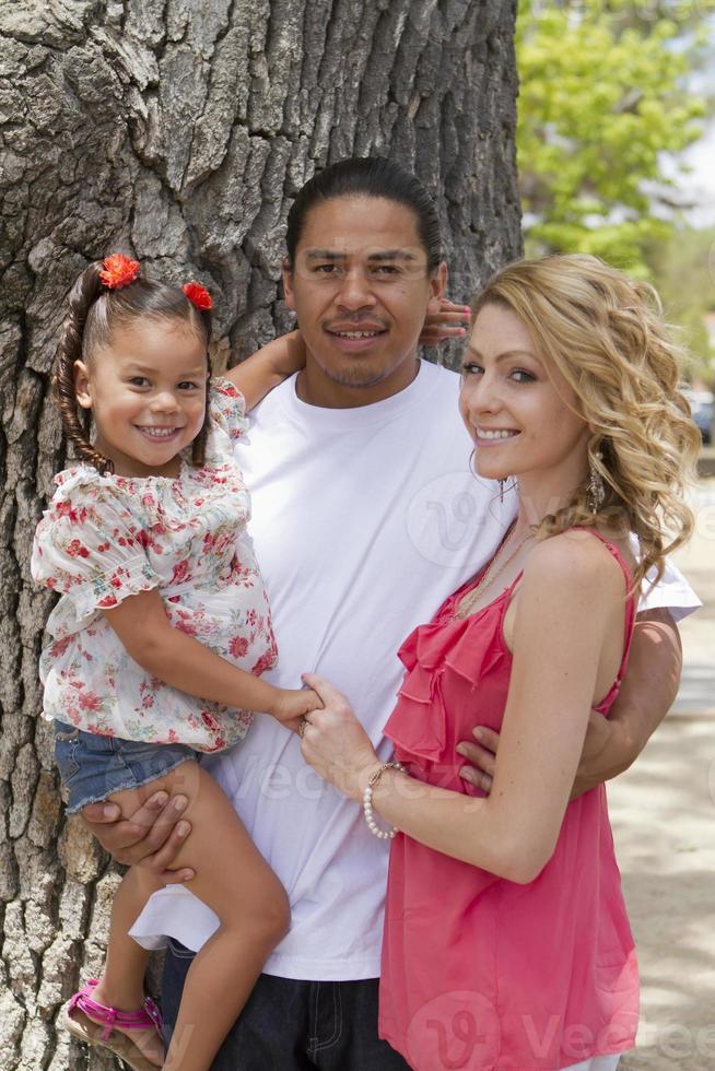 gemischte Familie foto