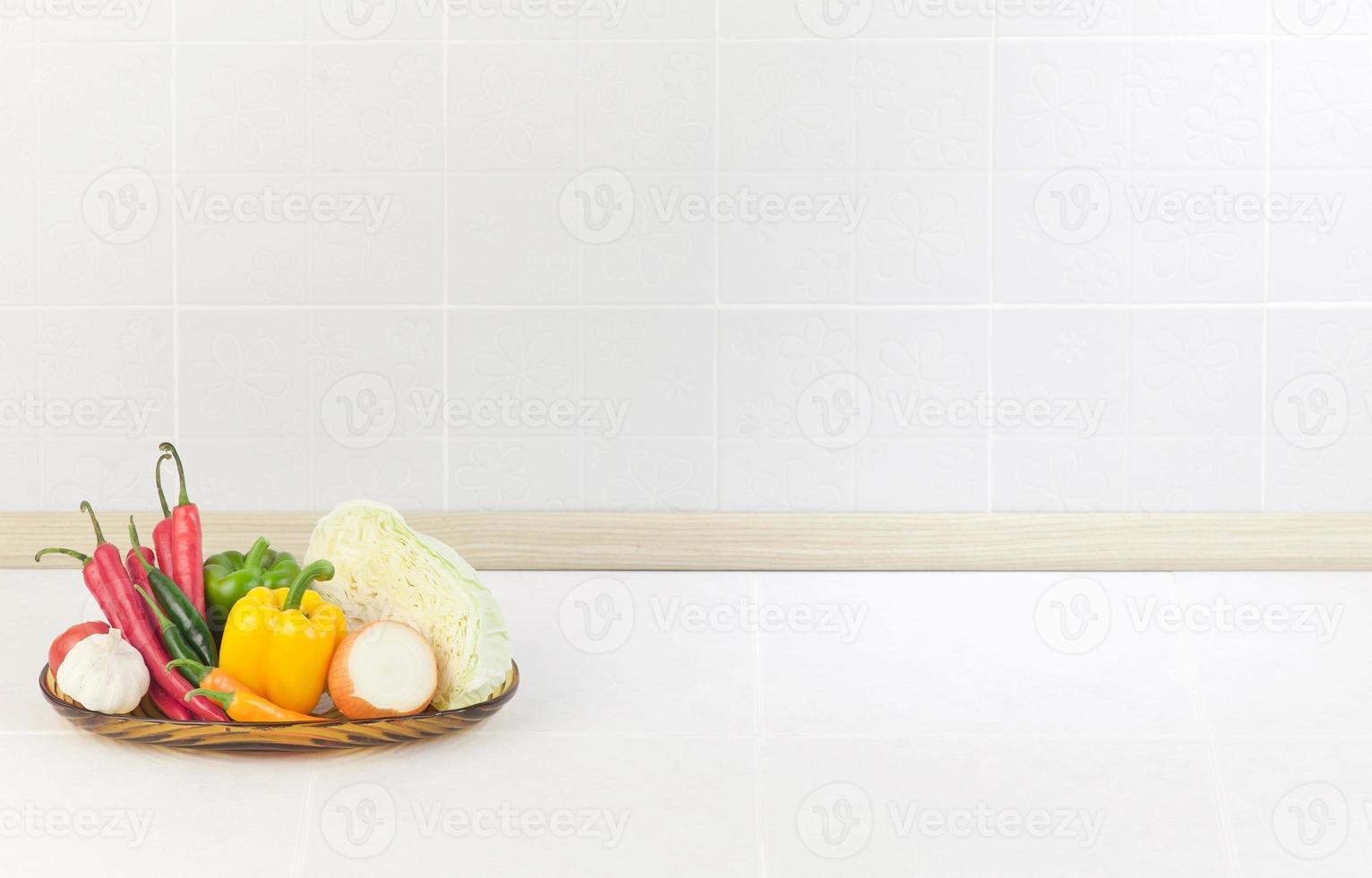 der leere Raum in der Küche foto