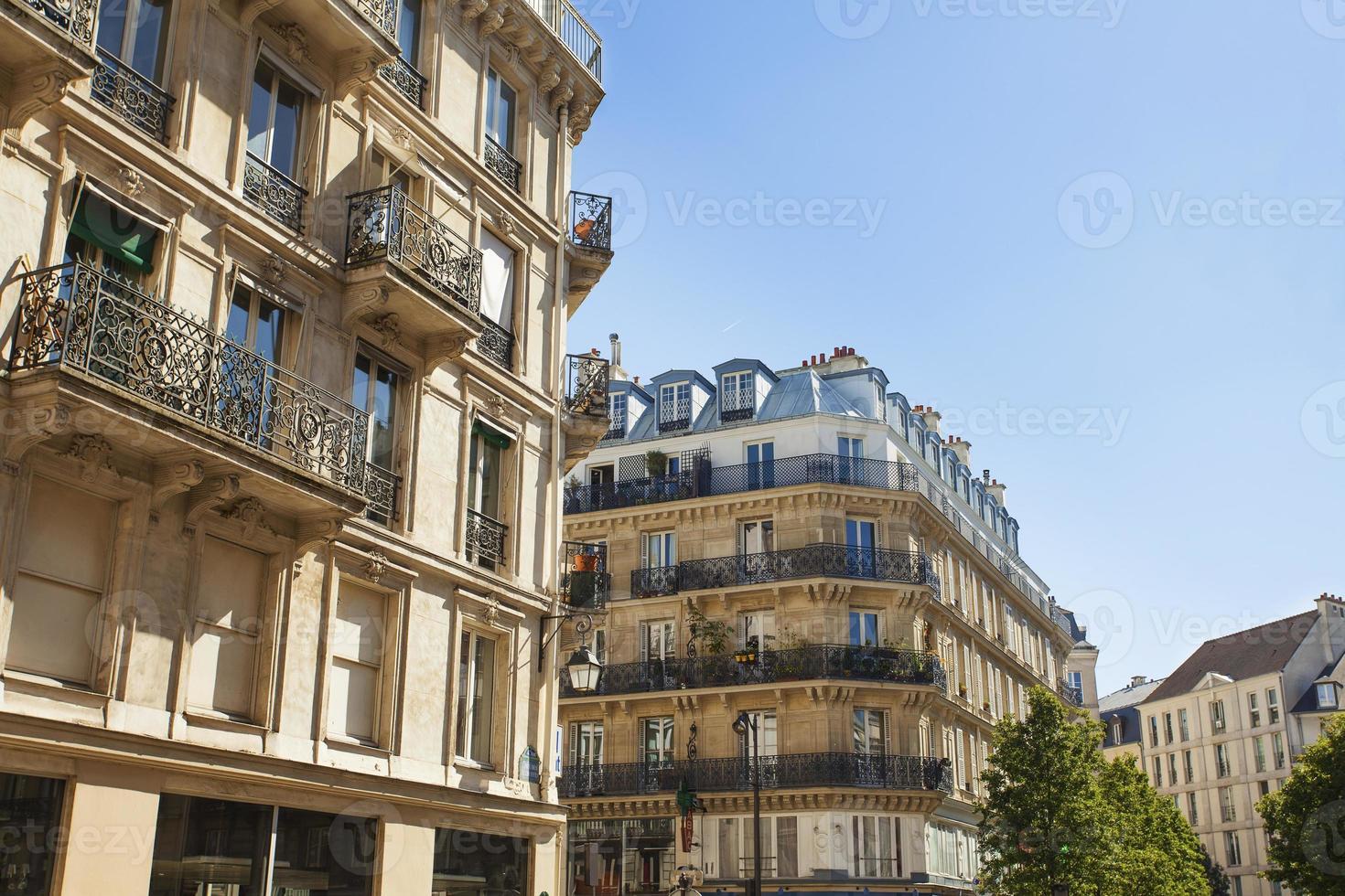 Straße in Paris foto