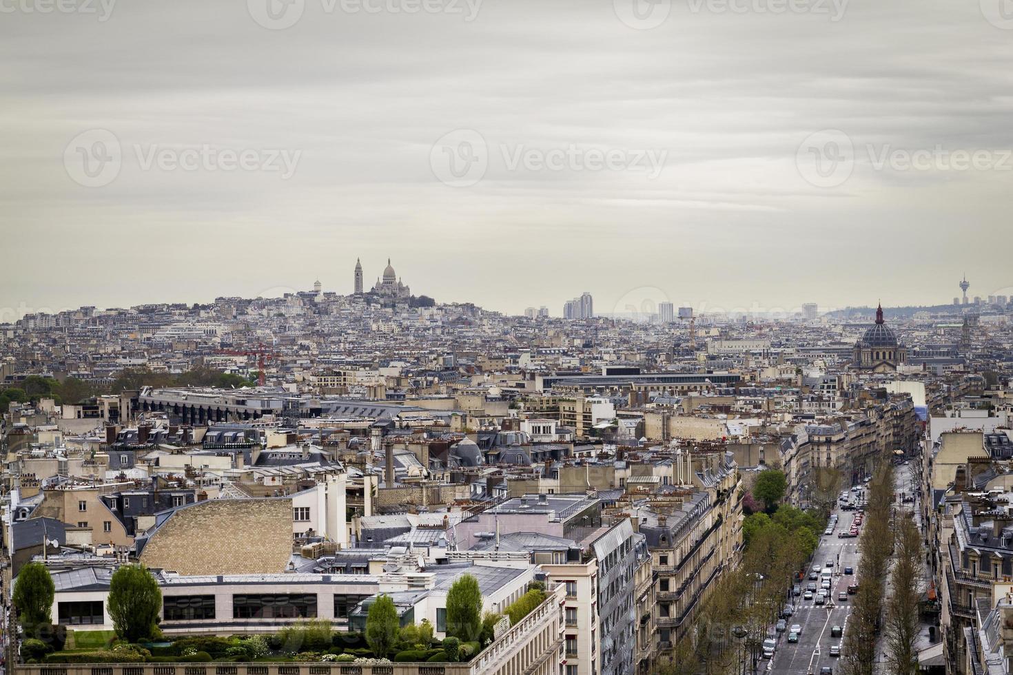 montmartre, paris, frankreich foto