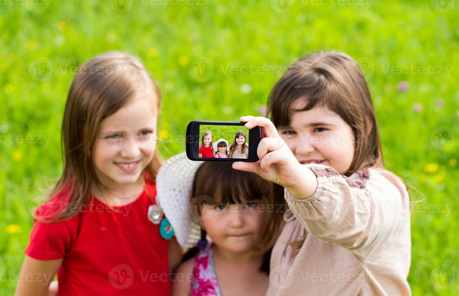 Lass uns ein paar Selfies machen! foto