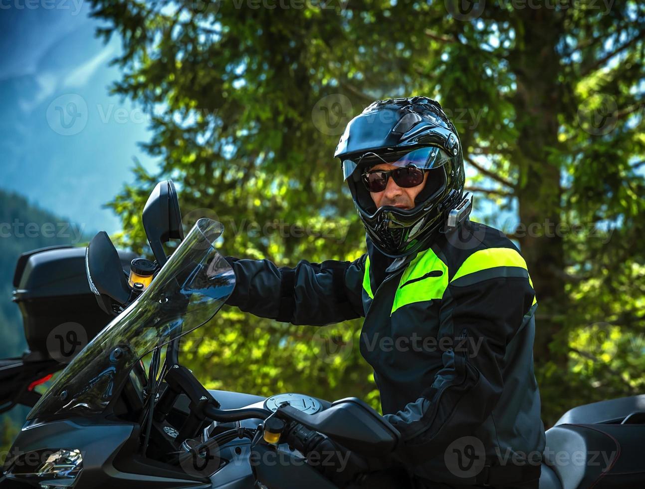 Bikerporträt foto