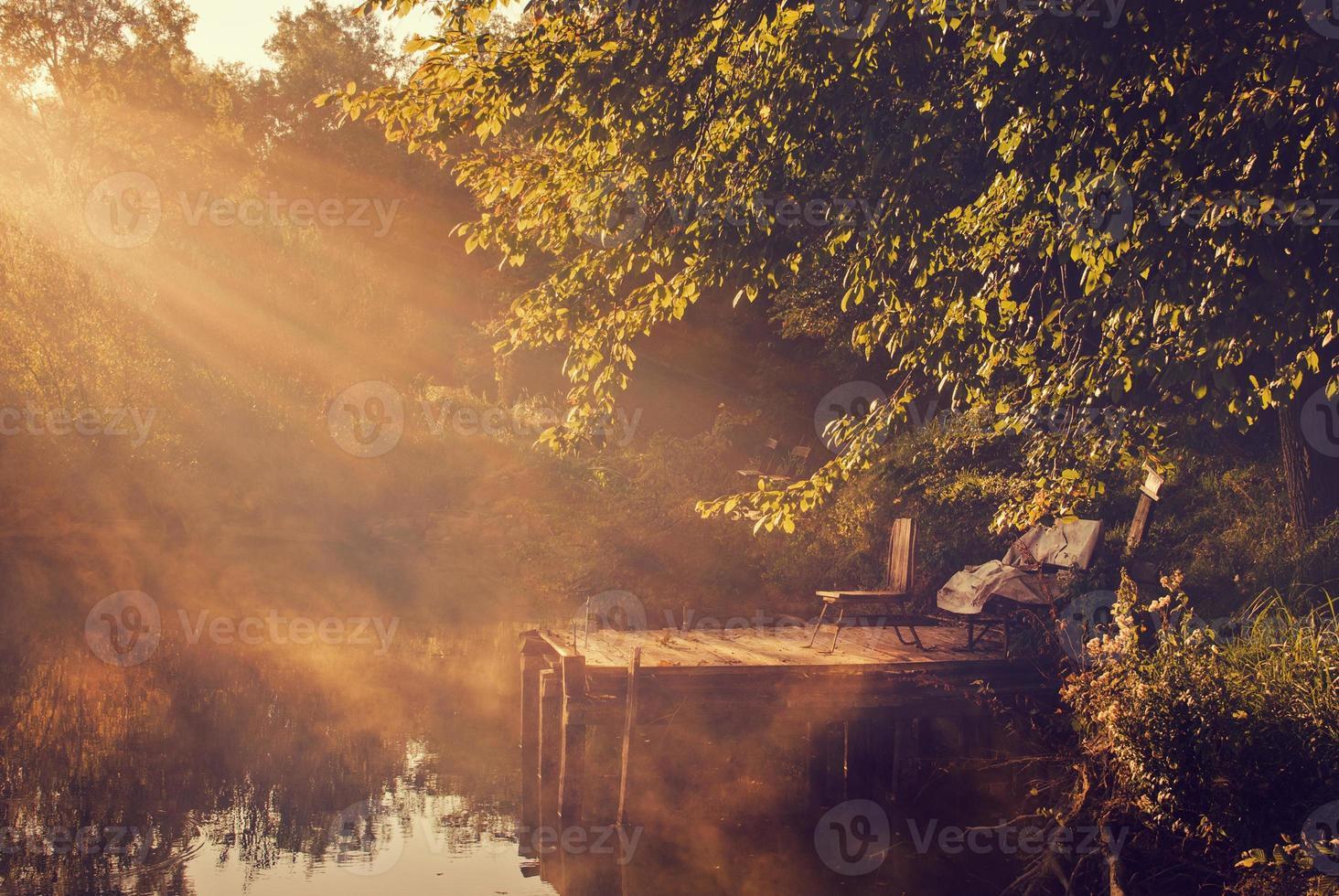 Morgenlichter am See foto