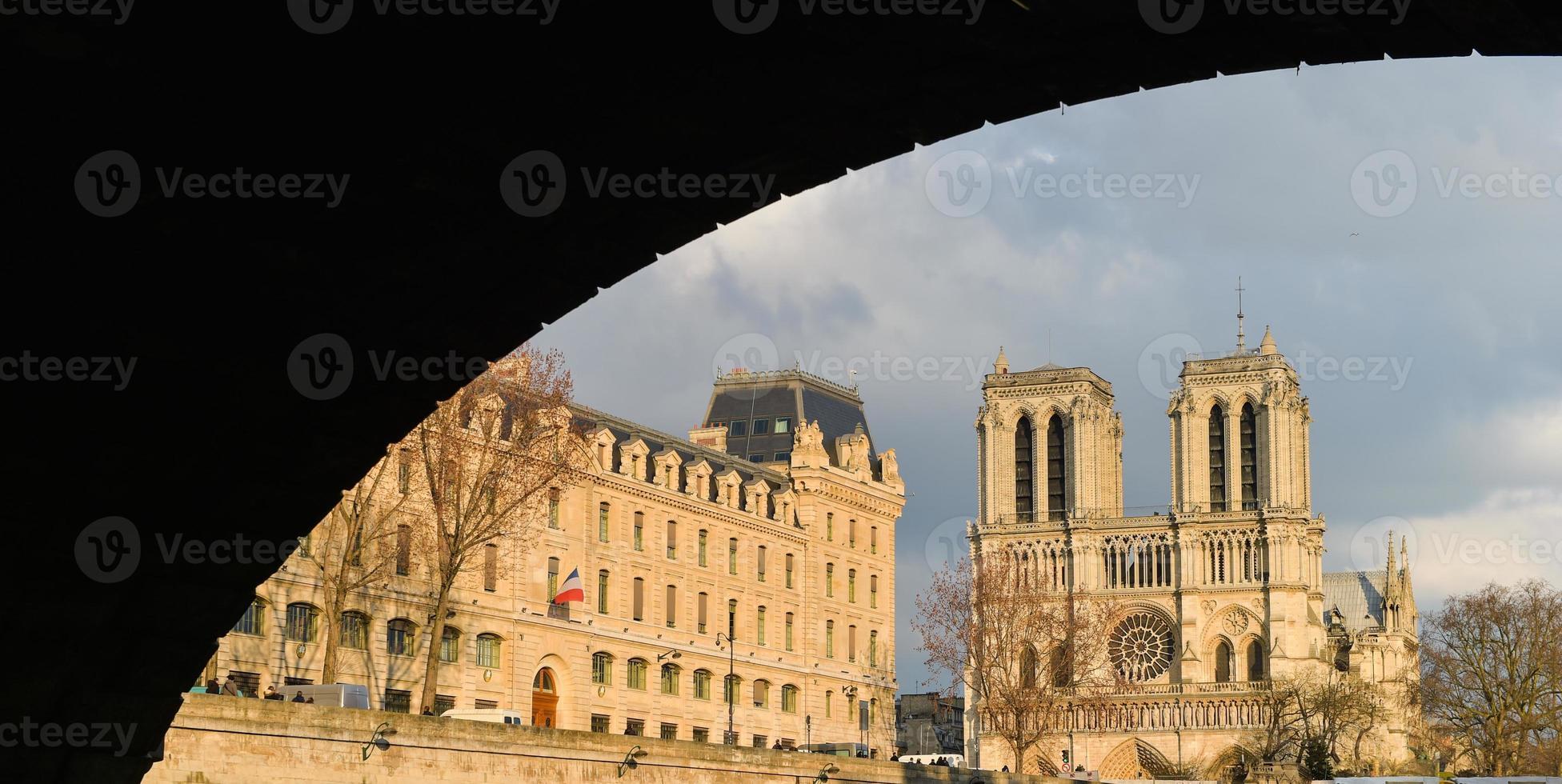 notre-dame kathedrale - paris foto