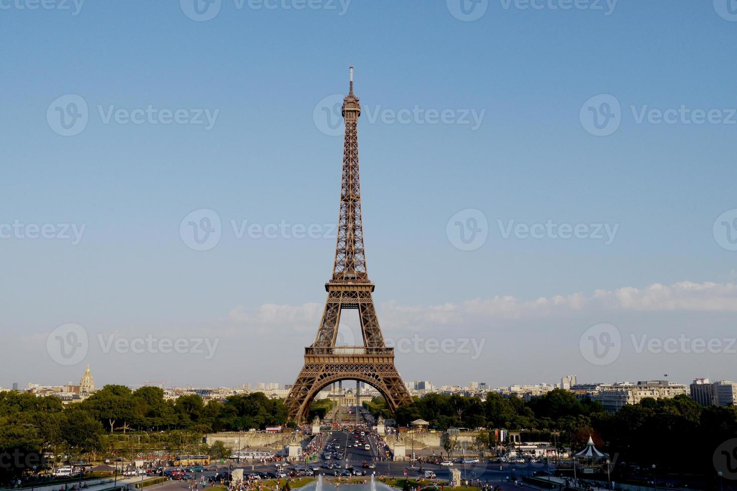 Eiffelturm in Paris foto