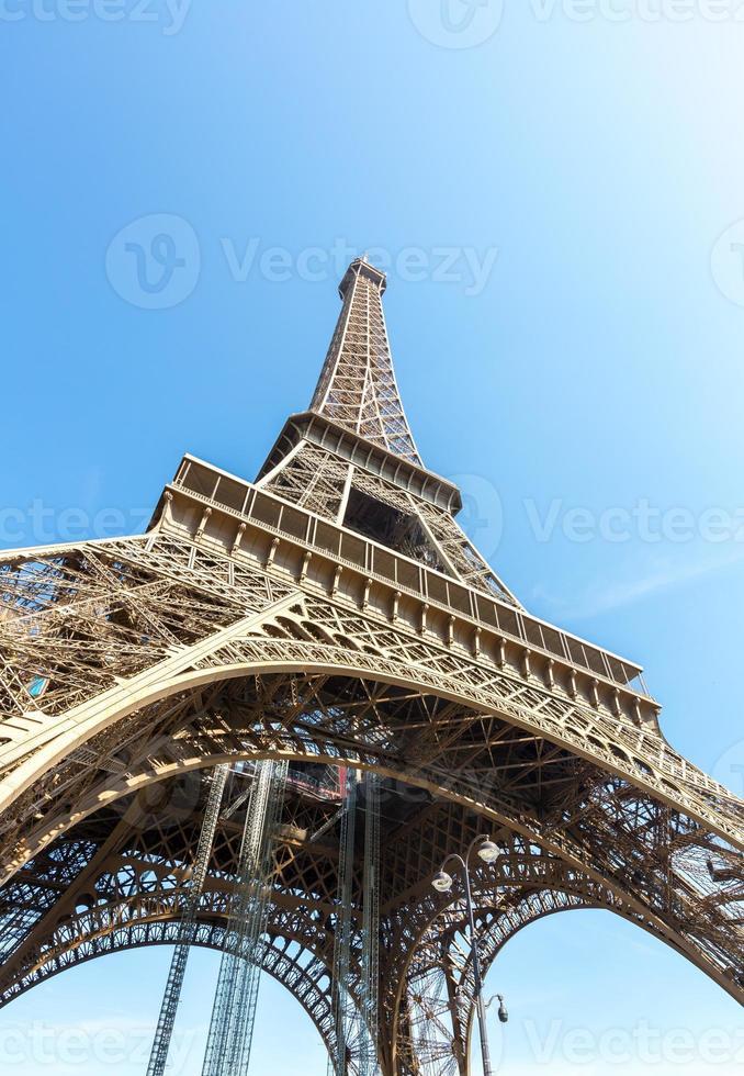 Eiffelturm Paris Sommer foto