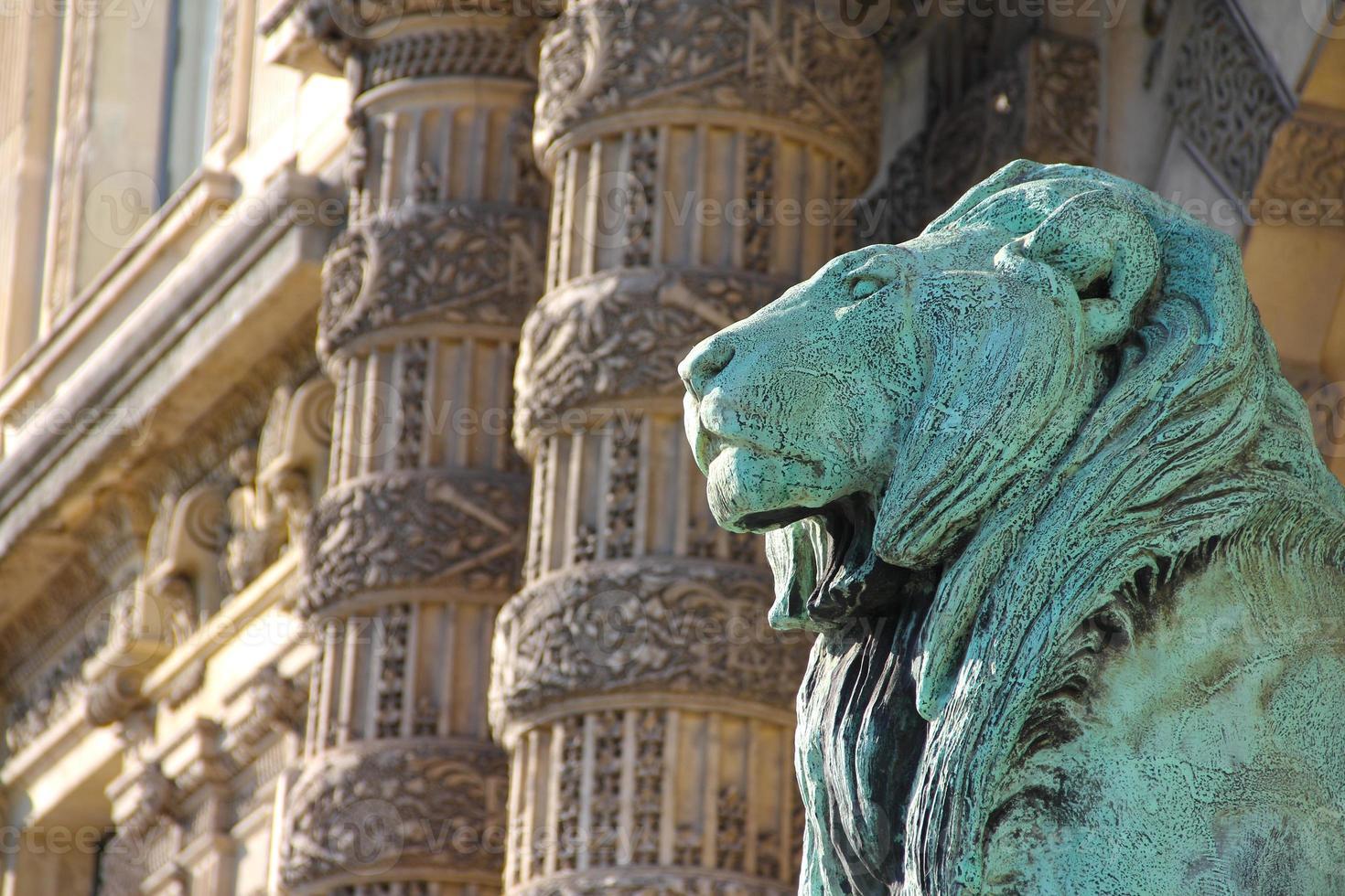 Lamellenmuseum in Paris foto