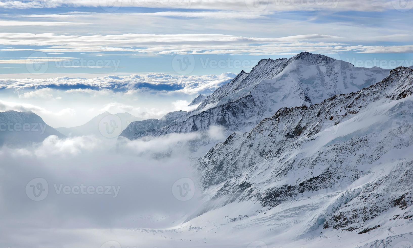 Spitze des berges foto