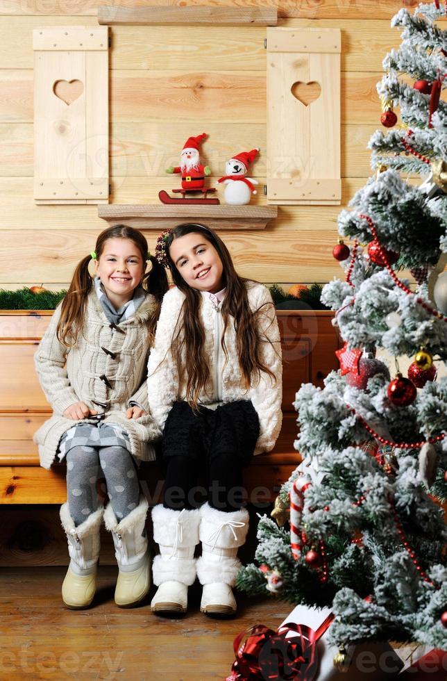 Weihnachtsporträt foto