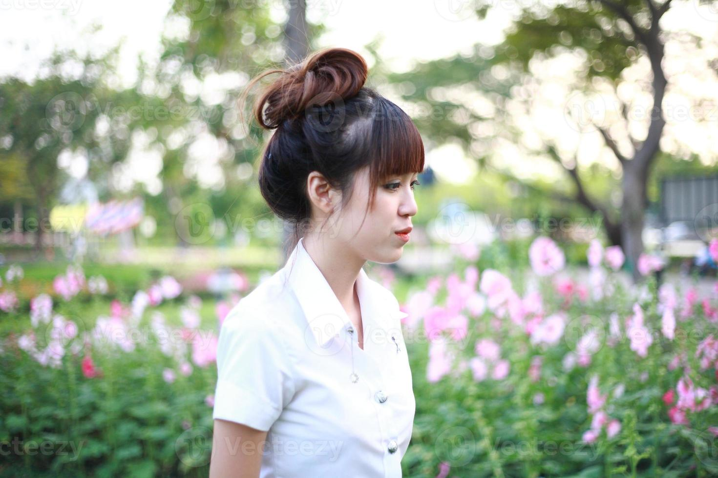 schönes asiatisches Mädchen foto
