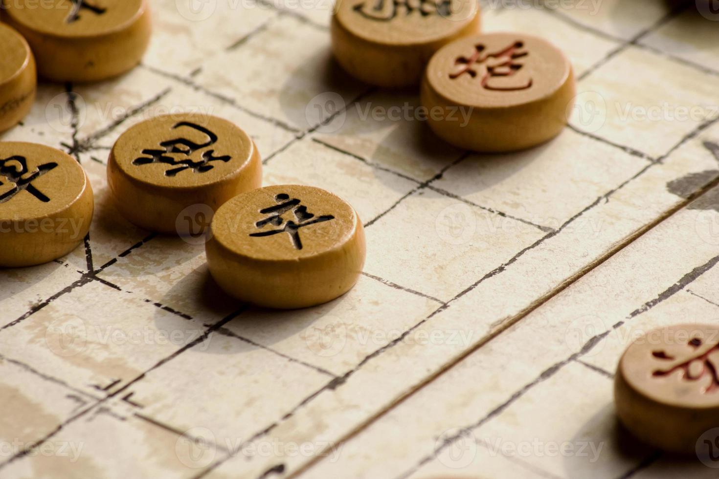 chinesisches Schachspiel foto