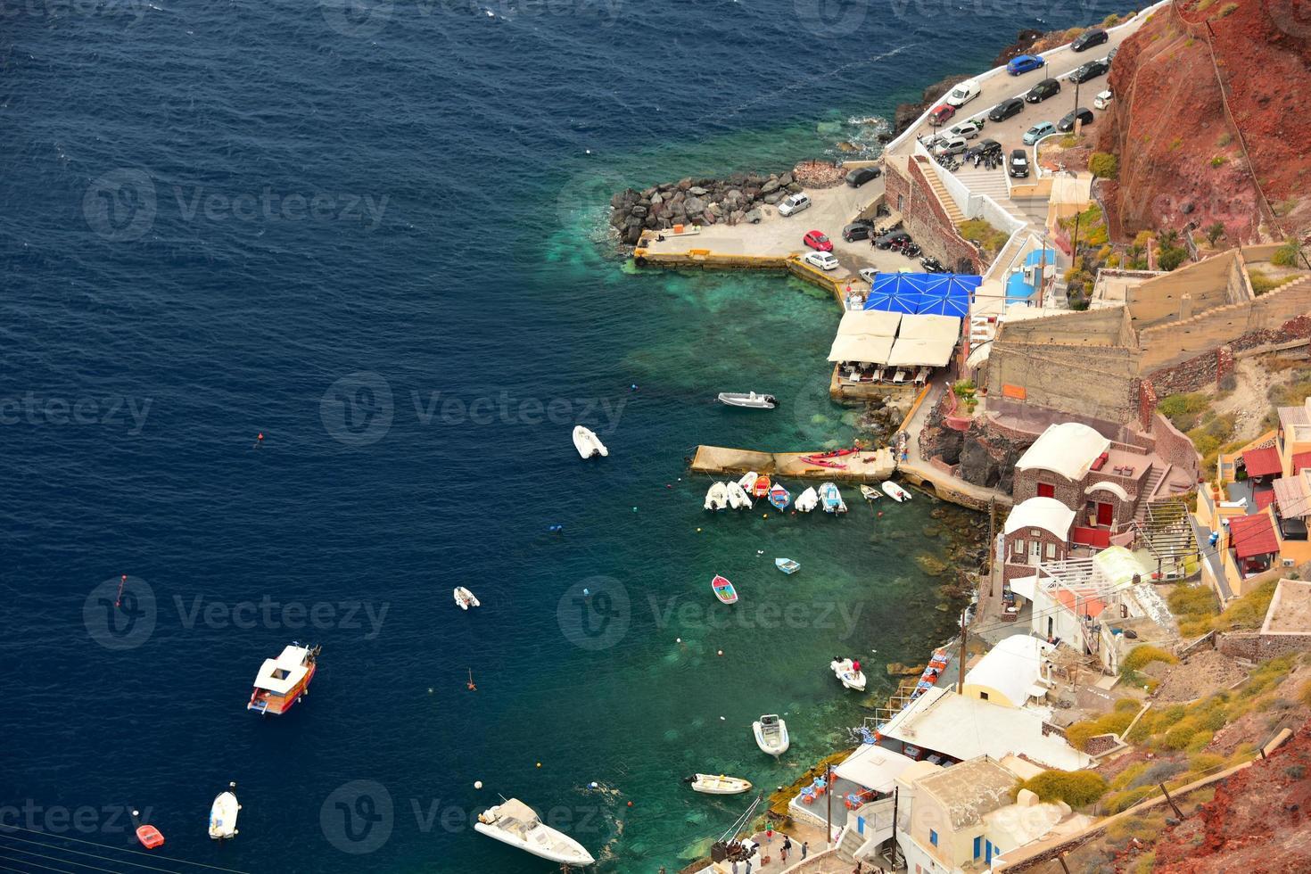 Steg bei Oia, Santorini foto